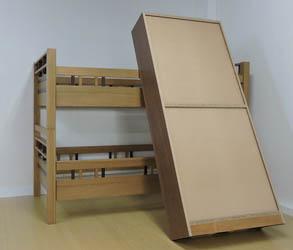 2段ベッドが地震対策になったと喜んで頂いたお客様の声をご紹介します。